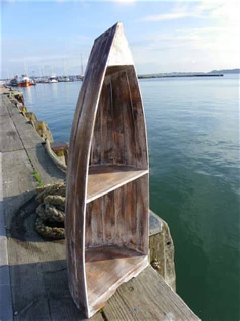 rustic boat bookcase medium dorset