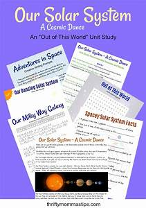 Our Solar System Learning Unit - Thrifty Mommas Tips