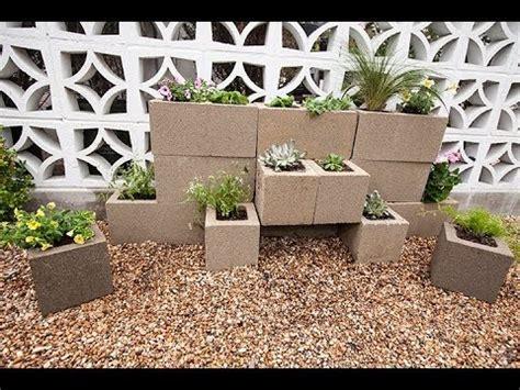 build  cinder block garden wall  justin