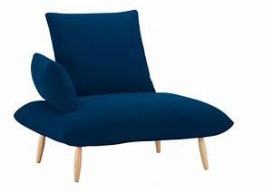 Fauteuil Bleu Marine : fauteuil bleu petrole ~ Teatrodelosmanantiales.com Idées de Décoration
