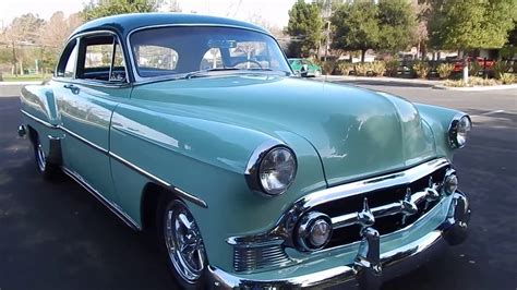 1953 Chevy Club Coupe Stunning Resto Mod Youtube