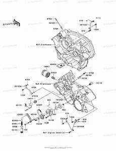 Kawasaki Atv 2005 Oem Parts Diagram For Oil Pump