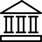 Bank Svg Icon Institution Banking Finance Financial