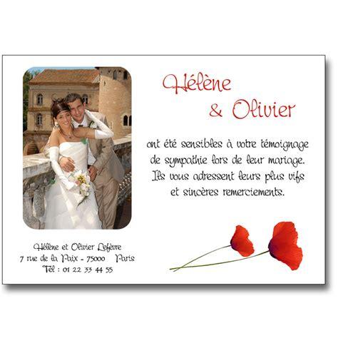 exemple texte remerciement mariage humoristique exemple faire part mariage remerciement