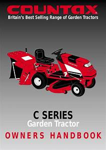Countax Garden Tractor User Manual