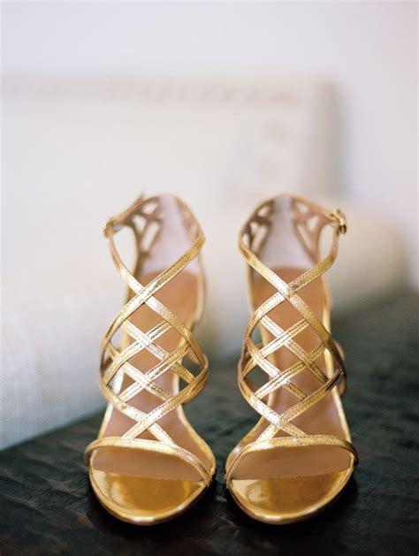 romantic diy vineyard wedding wedding metallic gold