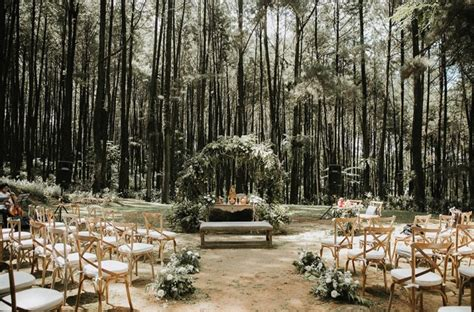 A Twilight Inspired Forest Wedding In Java Indonesia