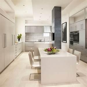 Modern White Kitchen Home Design Ideas Pictures Remodel