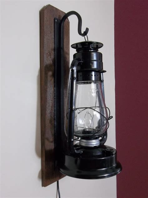 rustic electric lantern wall sconce bathroom lights