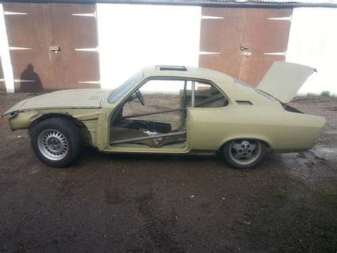 Opel Manta For Sale by For Sale Opel Manta A V8 Unfinished Project 1972