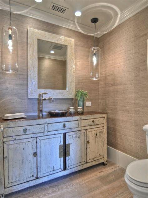 Distressed Bathroom Vanity Diy by Bathroom Distressed Cabinets Bath Rooms
