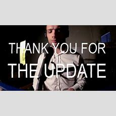 Thank You For The Update  Cosmo Jarvis  Live  (please Share) Youtube