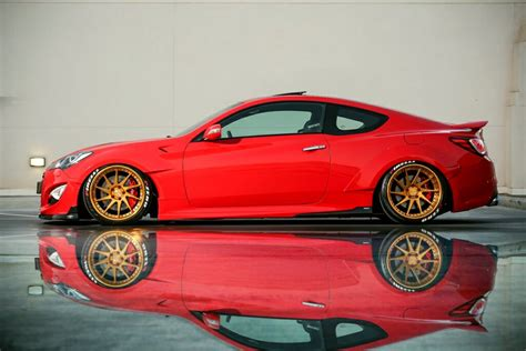 Haitham's Hyundai Genesis Coupe with UNR Wide Body, Avent ...