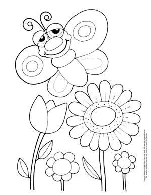 butterfly coloring pages  printable  cute  realistic butterflies easy peasy  fun