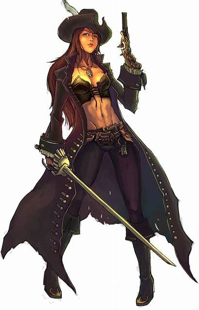 Pirate Woman Transparent Female Characters Character Lady