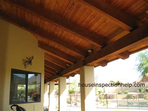 plywood finished patio roofs search patio wish