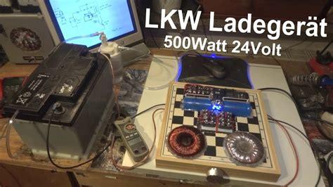 24v Lkw Batterie Ladeger 228 T 550watt Re Emf Charger