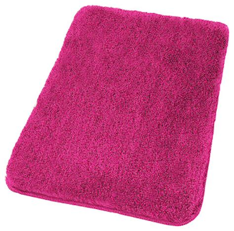 magenta  slip bathroom rugs relax contemporary