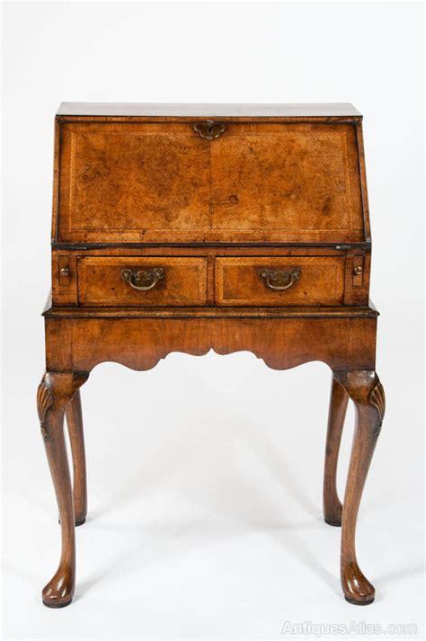 bureau qualit quality antique walnut bureau on stand antiques atlas
