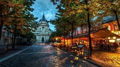 Paris Backgrounds Background Lights Romance 1920 1080