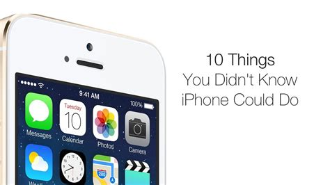 10 things you didn t iphone could do