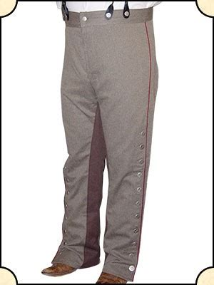 vaquero pants cotton herringbone
