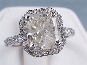 radiant cut engagement ring 4 40 ctw radiant cut engagement ring