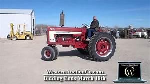 Lot 36 International Farmall 666 Hydro Farm Tractor