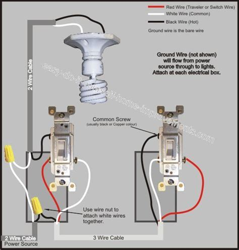 3 way switch wiring diagram gt power to switch then from