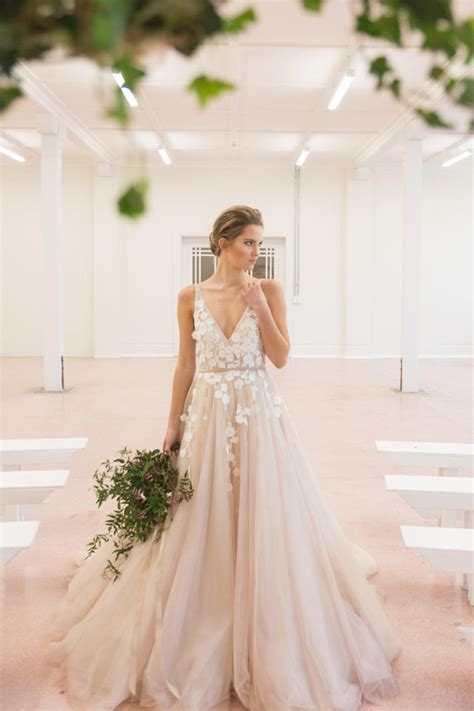 blush colored wedding gowns blush wedding dress styles we southern living