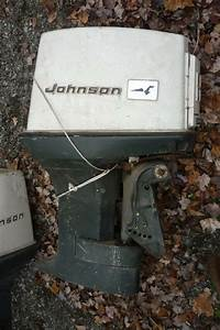 2 Used Johnson Evinrude Omc 55 Hp Outboard Motor Engine