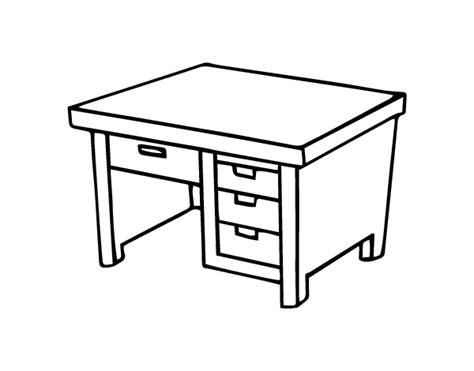 bureau avec tiroirs coloriage de bureau avec tiroirs pour colorier coloritou com