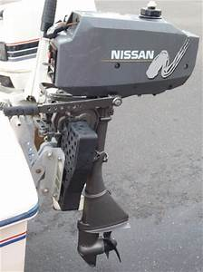 3, 5, Hp, Long, Shaft, Nissan, Outboard, Boat, Motor, For, Sale