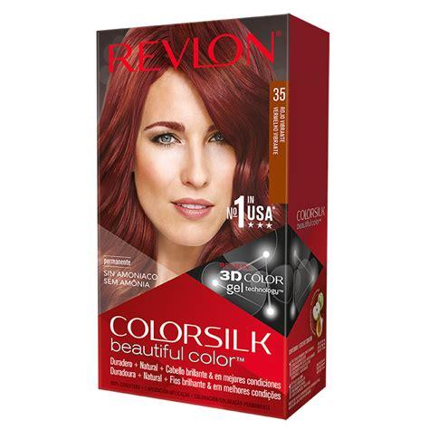 revlon colorsilk beautiful color revlon colorsilk beautiful color n 186 35 rojo vibrante