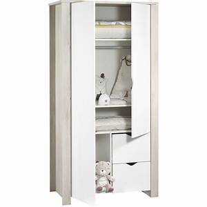 Armoire De Bébé : armoire chambre b b tipee de sauthon meubles sur allob b ~ Melissatoandfro.com Idées de Décoration