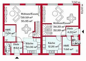 Pläne Für Einfamilienhäuser : doppelh user in massivbauweise bauen gse haus ~ Sanjose-hotels-ca.com Haus und Dekorationen