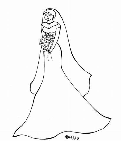 Kleurplaat Kleurplaten Oscar Trouwjurk Disney Coloring Lady