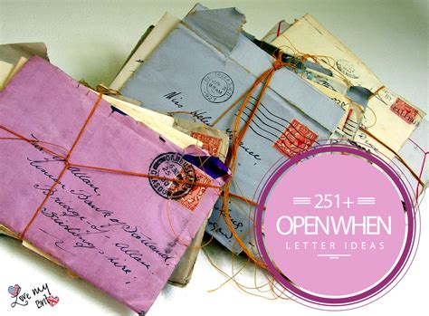 open when letters new open when letters cover letter exles 33023