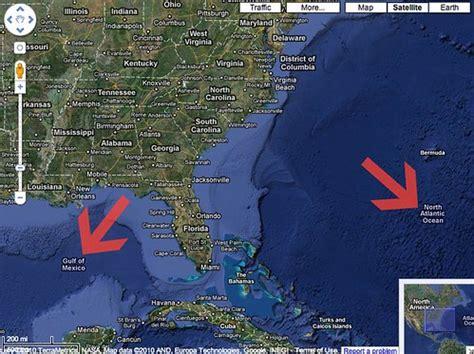 google maps labels oceans seas lakes  bodies  water