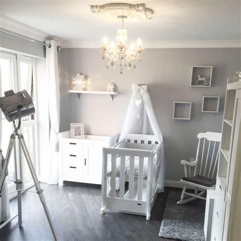 baby room nursery grey white white company dulux