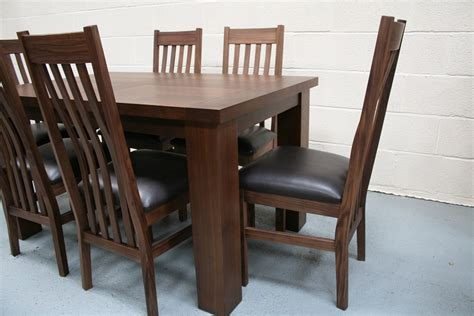 walnut dining tables and chairs a dining table set 6