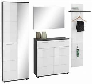 Garderoben Set Weiß Grau : garderoben set smart 4 tlg online kaufen otto ~ Bigdaddyawards.com Haus und Dekorationen