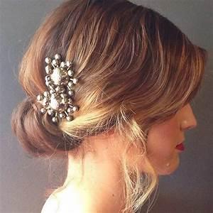 Coiffure Mariage Cheveux Court : 30 mod les de coiffure mariage pour cheveux courts ~ Dode.kayakingforconservation.com Idées de Décoration