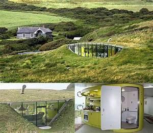 Maison Semi Enterrée : architecte maison enterr e ~ Voncanada.com Idées de Décoration