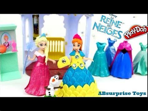 princesse en pate a modeler robe reine des neiges en pate a modeler playdoh princess playdoh dress frozen elsa