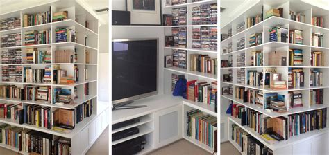 Custom Made Bookcases Melbourne by Custom Cabinets Sydney Luxury Cabinet Makers Bookshelves