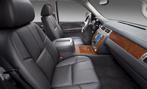 chevy avalanche interior car and driver