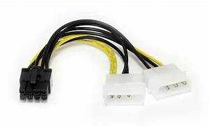 Startech 2x Molex To Pcie Power Adapter