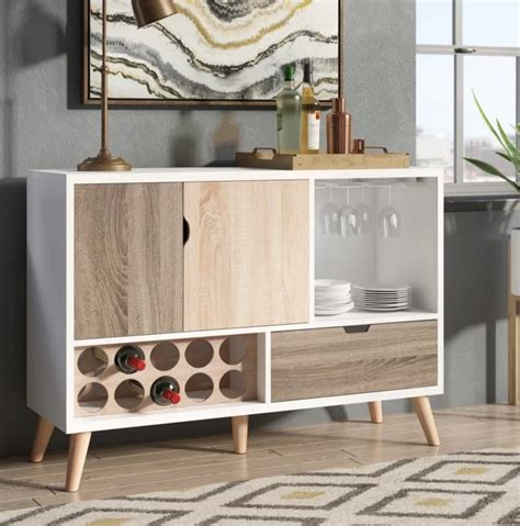 mueble madera buffet bar cantina rogerson muebles comedor