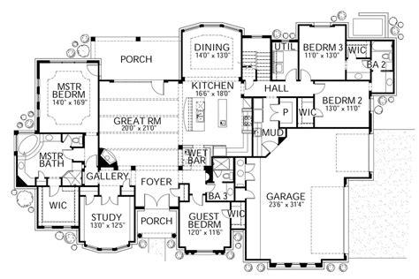 mediterranean style house plan  beds  baths  sqft plan